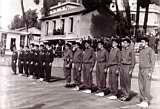 Quatre photos des finales militaires 1957